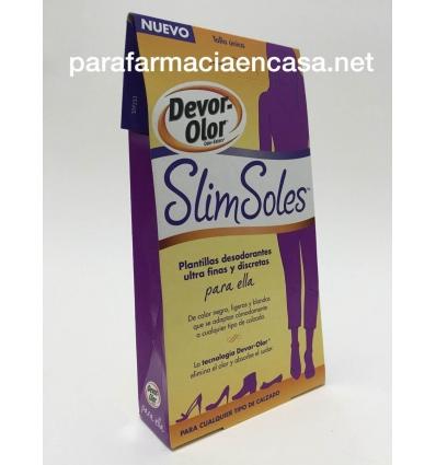 Devor Olor Slim Soles Plantillas Antiolor 2 Unidades