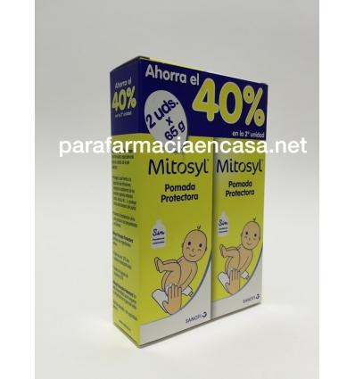 Pack 50% descuento 2º Unidad Mitosyl Pomada Protectora 65 gr