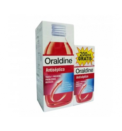 Oraldine Colutorio Pack 400ml + 200ml